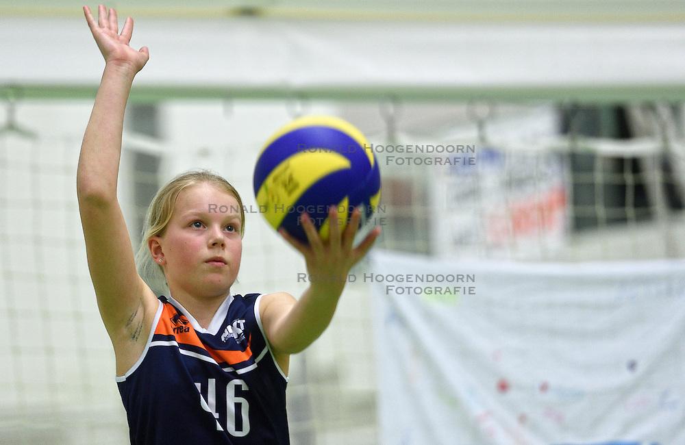 12-03-2016 NED: Finale NOJK CMV, Wijchen<br /> In de Arcussporthal te Wijchen streden de jongens en meisjes CMV