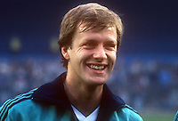 Colin Clarke, Bournemouth & N Ireland footballer, April, 1986, 19860410CC<br /> <br /> Copyright Image from Victor Patterson, 54 Dorchester Park, <br /> Belfast, UK, BT9 6RJ<br /> <br /> t1: +44 28 9066 1296 (from Rep of Ireland 048 9066 1296)<br /> t2: +44 28 9002 2446 (from Rep of Ireland 048 9002 2446)<br /> m: +44 7802 353836<br /> <br /> e1: victorpatterson@me.com<br /> e2: victorpatterson@gmail.com<br /> <br /> www.victorpatterson.com<br /> <br /> Please see my Terms and Conditions of Use at VICTORPATTERSON.COM. It is IMPORTANT that you familiarise yourself with them.<br /> <br /> Images used on the Internet must be visibly watermarked i.e. ©VICTORPATTERSON.COM within the body of the image and copyright metadata must not be deleted. Images used on the Internet have a size restriction of 4kbs and are chargeable at the then current NUJ rates.<br /> <br /> This image is only available for the use of the download recipient i.e. television station, newspaper, magazine, book publisher, etc, and must not be passed on to any third party. It is also downloaded on condition that each and every usage is notified within 7 days to victorpatterson@me.com<br /> <br /> The right of Victor Patterson to be identified as the author is asserted in accordance with The Copyright Designs And Patents Act (1988).