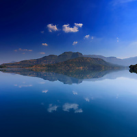 REFLECTION OF BLUE
