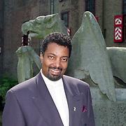 NLD/Haarzuilens/19940517 - Huwelijk Rob Witschge en Barbara van den Boogaard in kasteel Haarzuilen, Lou Prince