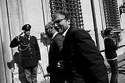 Luca Lotti entering Palazzo Chigi. Rome 17 March 2017. Christian Mantuano / OneShot