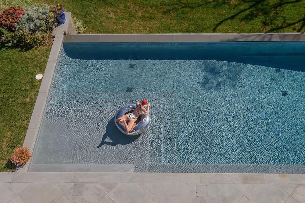 Swimming Pool., Water Mill, NY, New York