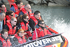 Queenstown-Royal Visit, Duke and Duchess go jet boating