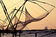 Fort Cochin's chinese fishing nets.