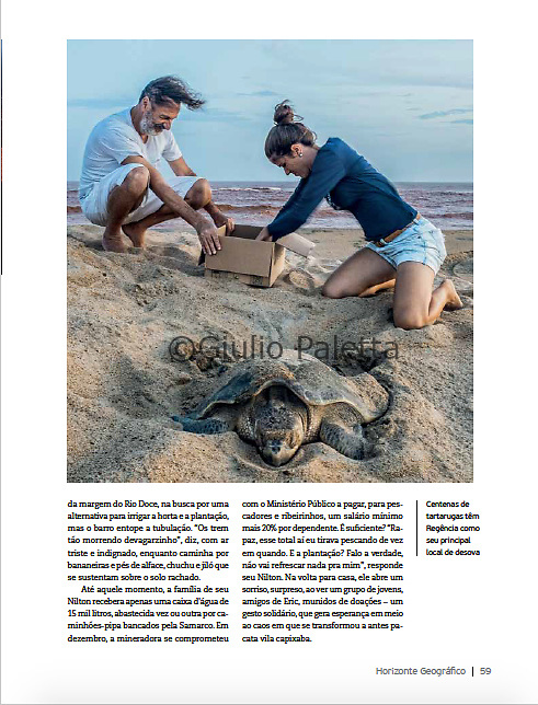 Published in Horizonte Geografico magazine, Brazil, April 2016