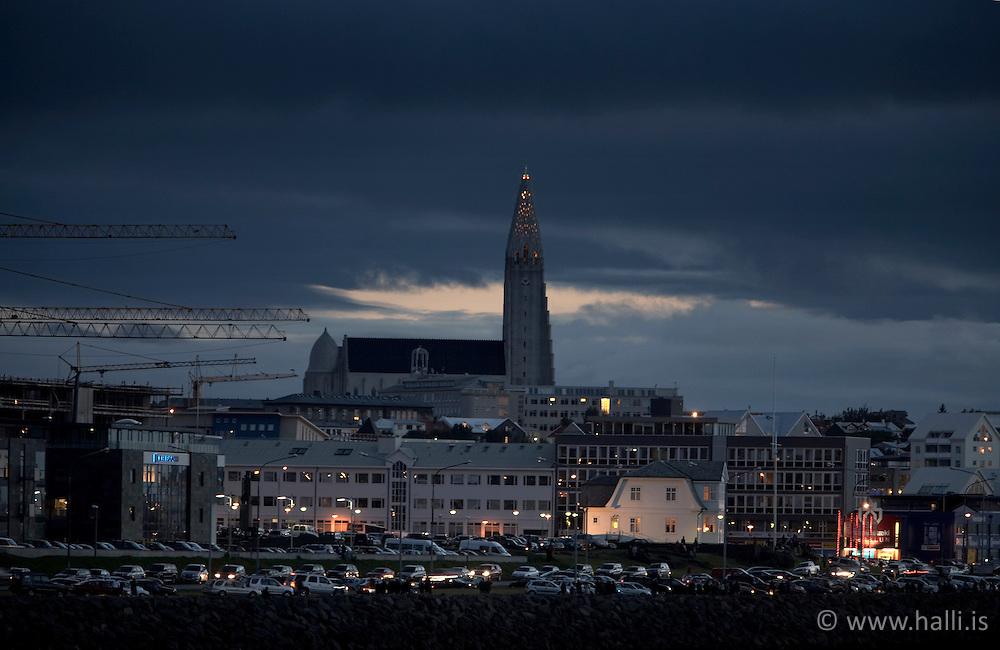 Reykjavík að kvöldi / Reykjavik late evening