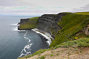Looking North at The Cliffs of Moher in County Clare, Ireland on Friday June 21st 2013. (Photo by Brian Garfinkel)