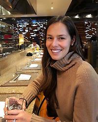 """Ana Ivanovic releases a photo on Instagram with the following caption: """"On the road again \ud83d\ude03\ud83d\udeeb"""". Photo Credit: Instagram *** No USA Distribution *** For Editorial Use Only *** Not to be Published in Books or Photo Books ***  Please note: Fees charged by the agency are for the agency's services only, and do not, nor are they intended to, convey to the user any ownership of Copyright or License in the material. The agency does not claim any ownership including but not limited to Copyright or License in the attached material. By publishing this material you expressly agree to indemnify and to hold the agency and its directors, shareholders and employees harmless from any loss, claims, damages, demands, expenses (including legal fees), or any causes of action or allegation against the agency arising out of or connected in any way with publication of the material."""