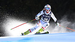 27.01.2018, Lenzerheide, SUI, FIS Weltcup Ski Alpin, Lenzerheide, Riesenslalom, Damen, im Bild Katharina Truppe (AUT) // Katharina Truppe of Austria in action during the ladie's Giant Slalom of FIS ski alpine world cup in Lenzerheide, Austria on 2018/01/27. EXPA Pictures © 2018, PhotoCredit: EXPA/ Sammy Minkoff<br /> <br /> *****ATTENTION - OUT of GER*****
