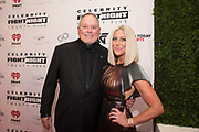 Renee Parsons and Bob Parsons attend the Celebrity Fight Night event on March 23, 2019 in Scottsdale, AZ.