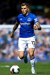 Lucas Digne of Everton - Mandatory by-line: Robbie Stephenson/JMP - 01/09/2019 - FOOTBALL - Goodison Park - Liverpool, England - Everton v Wolverhampton Wanderers - Premier League