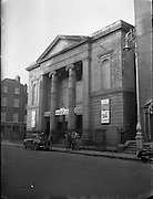 Protestant Churches around Dublin for Belfast Telegraph..Methodist Church at Granby Row, Dublin 1 is Used as a Plaza Cinema..07/01/1956