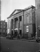 Protestant Churches around Dublin for Belfast Telegraph..Methodist Church at Granby Row, Dublin 1 is Used as a Plaza Cinema..07/01/1956