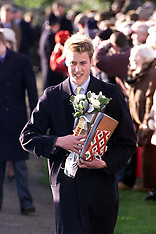 DEC 26 2000 Prince William at Sandringham