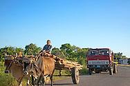 Traffic near Sabalo, Pinar del Rio, Cuba.