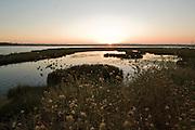 Rozlewiska rzeki na granicy hiszpanskiej prowincji Huelva i portugalskiego wybrze?a Algavre.08.2007.fot Piotr Gesicki Spain Andalucia Costa de la Luz Isla Cristina town photo Piotr Gesicki