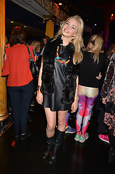 Noelle Reno at the SheInspiresMe Dance in aid of Women for Women International held at the Café de Paris, 3 Coventry Street, London England. 25 January 2017.
