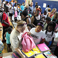 Platform of Hope hosted its second annual Back 2 School Bash Aug. 3 at the Aberdeen Park and Recreation Department's gym. Other nonprofits helped in the effort to provide book bags and school supplies to students from not just the Aberdeen School District but those from Amory and Monroe County schools as well. Additionally, there were arts and crafts stations, a DJ, free food and an inflatable jumper.