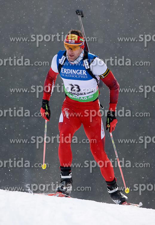 Winner Christoph Sumann of Austria at Men 20 km Individual of e.on Ruhrgas IBU World Cup Biathlon Pokljuka, on December 17, 2009, in Pokljuka, Slovenia. (Photo by Vid Ponikvar / Sportida)