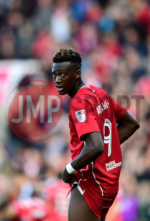 Tammy Abraham of Bristol City   - Mandatory by-line: Joe Meredith/JMP - 01/10/2016 - FOOTBALL - Ashton Gate Stadium - Bristol, England - Bristol City v Nottingham Forest - Sky Bet Championship