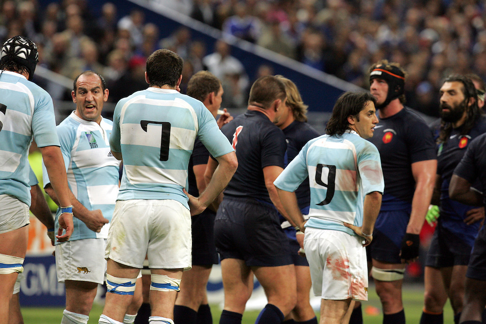 France v Argentina, Stade De France, St Denis, France, 7th Speptember 2007. Rugby World Cup 2007.