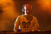Jono Grant of UK trance outfit Above and Beyond, performing at the first annual Pulse Festival in St. Louis on June 9, 2012.