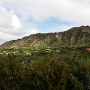 Hawaii's Diamond Head is a defining feature of the view known to residents and tourists alike. <br /> <br /> Photography by Jose More