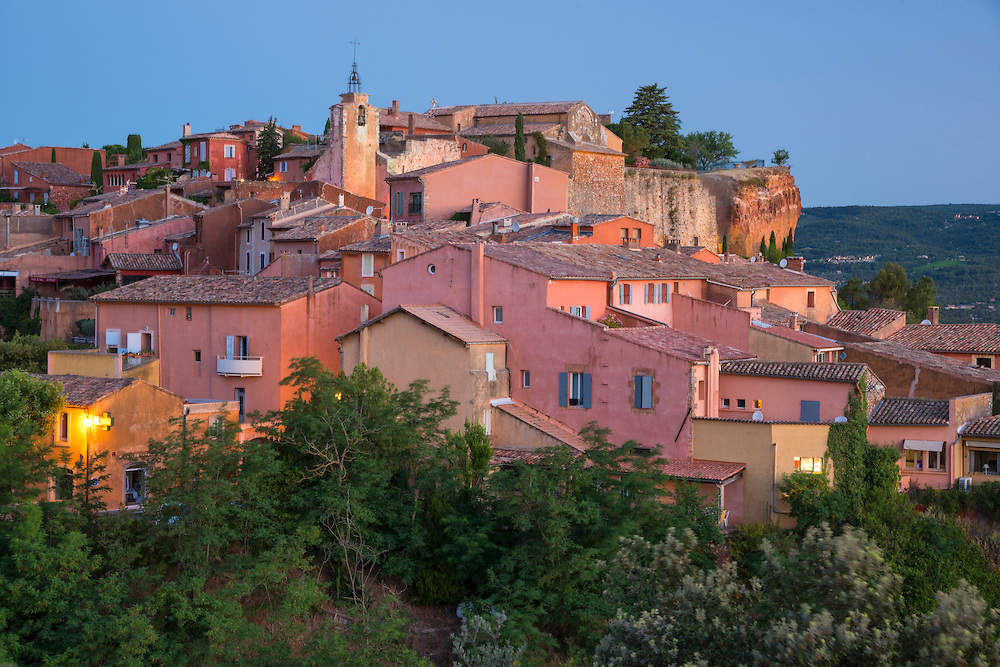 Europe, France, Provence, Vaucluse, Roussillon
