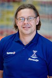 Portrait of physiotherapist Gorazd Zuzek of Slovenian Handball Men National Team, on June 4, 2009, in Arena Kodeljevo, Ljubljana, Slovenia. (Photo by Vid Ponikvar / Sportida)