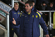 Nigel Clough before the EFL Sky Bet League 1 match between Burton Albion and Southend United at the Pirelli Stadium, Burton upon Trent, England on 3 December 2019.