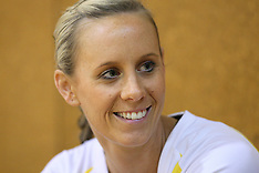Hamilton-Netball, Quad Series, Australian Diamonds Training
