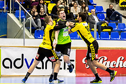 23.02.2018, BSFZ Suedstadt, Maria Enzersdorf, AUT, HLA, SG INSIGNIS Handball WESTWIEN vs Bregenz Handball, Bonus-Runde, 3. Runde, im Bild Viggo Kristjansson (SG INSIGNIS Handball WESTWIEN) // during Handball League Austria, Bonus-Runde, 3 rd round match between SG INSIGNIS Handball WESTWIEN and Bregenz Handball at the BSFZ Suedstadt, Maria Enzersdorf, Austria on 2018/02/23, EXPA Pictures © 2018, PhotoCredit: EXPA/ Sebastian Pucher