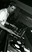 DJ Jon Da Silva on the decks at the Thunderdome nightclub, Manchester, 1988