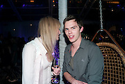 JADE PARFITT; NICHOLAS HOULT, An evening at Sanderson to celebrate 10 years of Sanderson, in aid of Clic Sargent. Sanderson Hotel. 50 Berners St. London. W1. 27 April 2010 *** Local Caption *** -DO NOT ARCHIVE-© Copyright Photograph by Dafydd Jones. 248 Clapham Rd. London SW9 0PZ. Tel 0207 820 0771. www.dafjones.com.<br /> JADE PARFITT; NICHOLAS HOULT, An evening at Sanderson to celebrate 10 years of Sanderson, in aid of Clic Sargent. Sanderson Hotel. 50 Berners St. London. W1. 27 April 2010