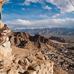Ladakh was mostly closed to outside tourism until the 1970s.  Now it is prime trekking location during the summer months.