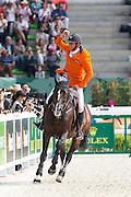 Jeroen Dubbeldam - Casall la Silla<br /> Alltech FEI World Equestrian Games™ 2014 - Normandy, France.<br /> © DigiShots