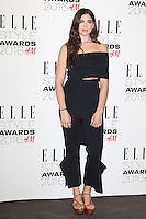 Dua Lipa, ELLE Style Awards 2016, Millbank London UK, 23 February 2016, Photo by Richard Goldschmidt