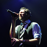 Scott Weiland performing at the last show of his solo tour @ Henry Fonda in Hollywood, California USA on February 7, 2009