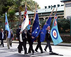 Auckland-ANZAC day service, Manurewa 2014
