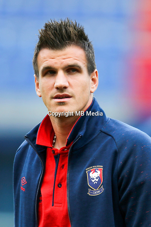 Ivan Santini of Caen during the French Ligue 1 match between SM Caen an Bastia at Stade Michel D'Ornano on August 27, 2016 in Caen, France. (Photo by Vincent Michel/Icon Sport)