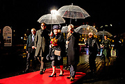 Prinses Beatrix opent Amsterdam Light Festival bij de Stopera in Amsterdam. Tijdens het lichtfestival zijn verschillende sculpturen, projecties en installaties van hedendaagse kunstenaars te zien. <br /> <br /> Princess Beatrix opens Amsterdam Light Festival at the Stopera in Amsterdam. While seeing the light festival are several sculptures, projections and installations by contemporary artists.