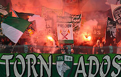 19.09.2010, Franz Horr Stadion, Wien, AUT, Stiegl Cup, Austria Amateure vs SK Rapid Wien, im Bild Rapid Fans, EXPA Pictures © 2010, PhotoCredit: EXPA/ M. Gruber / SPORTIDA PHOTO AGENCY