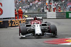 May 26, 2019 - Monte Carlo, Monaco - xa9; Photo4 / LaPresse.26/05/2019 Monte Carlo, Monaco.Sport .Grand Prix Formula One Monaco 2019.In the pic: Kimi Raikkonen (FIN) Alfa Romeo Racing C38 (Credit Image: © Photo4/Lapresse via ZUMA Press)