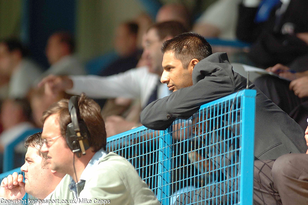 IMRAN LADAK, Chairman Kettering Town, Kettering Town, Stalybridge Celtic - Kettering Town, Blue Square Conference North 11/8/2007