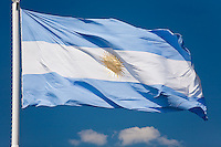 BANDERA NACIONAL ARGENTINA (PHOTO BY © MARCO GUOLI - ALL RIGHTS RESERVED. CONTACT THE AUTHOR FOR IMAGE REPRODUCTION)