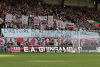 SUPPORTERS GUINGAMP   - 08.03.2015 -  Guingamp / Lille -  28eme journee de Ligue 1 <br />