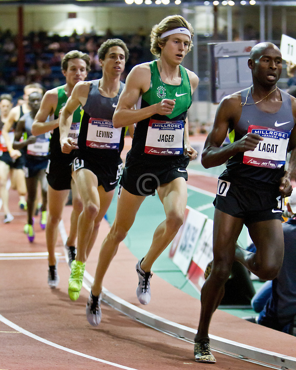 Millrose Games indoor track and field: mens two-mile, Evan Jager