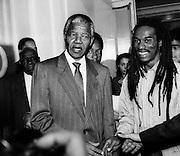 Benjamin Zephania Meets Nelson Mandela