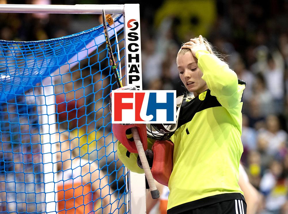 BERLIN - Indoor Hockey World Cup<br /> Final: Netherlands - Germany<br /> foto: HEERBAART Alexandra.<br /> WORLDSPORTPICS COPYRIGHT FRANK UIJLENBROEK