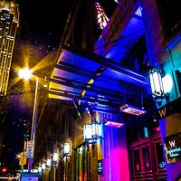 Night photography in Minneapolis, Minnesota